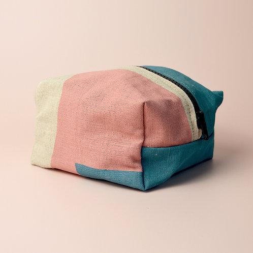 Screen printed zipper bag