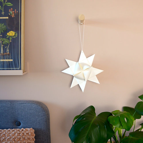 Large origami star decoration