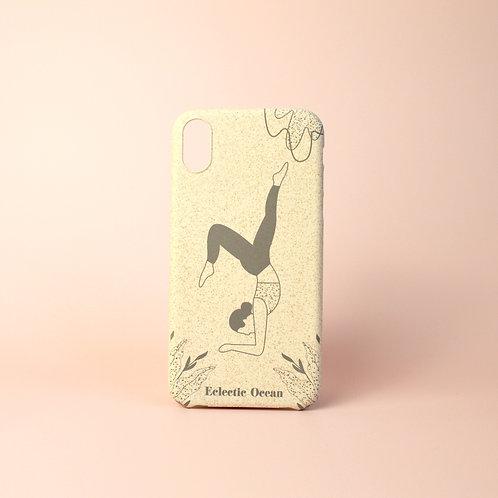 'Yoga Pose' infinity phone case