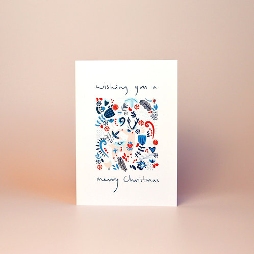 Nordic Christmas card