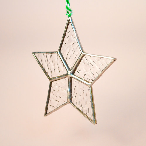 Glass christmas decorations