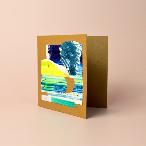 Mini collage card