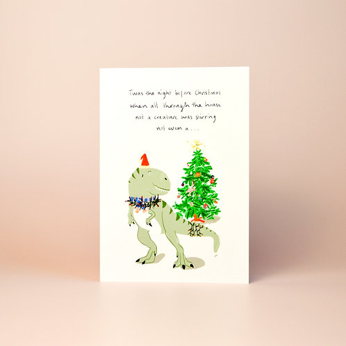 'Night before Christmas..' card