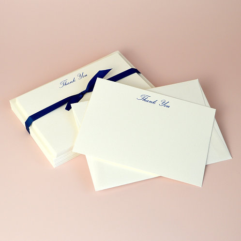 Luxury correspondence cards