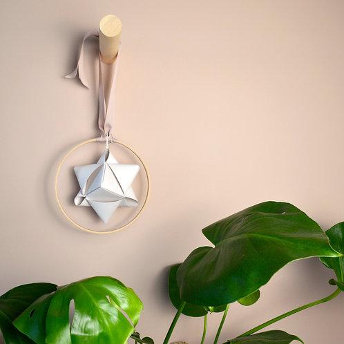 Star in hoop decoration