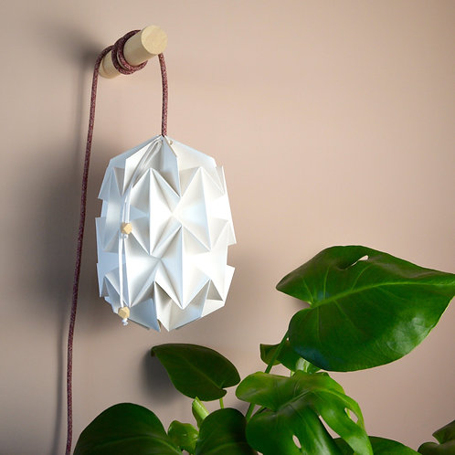 'Orchid 2' paper lamp shade