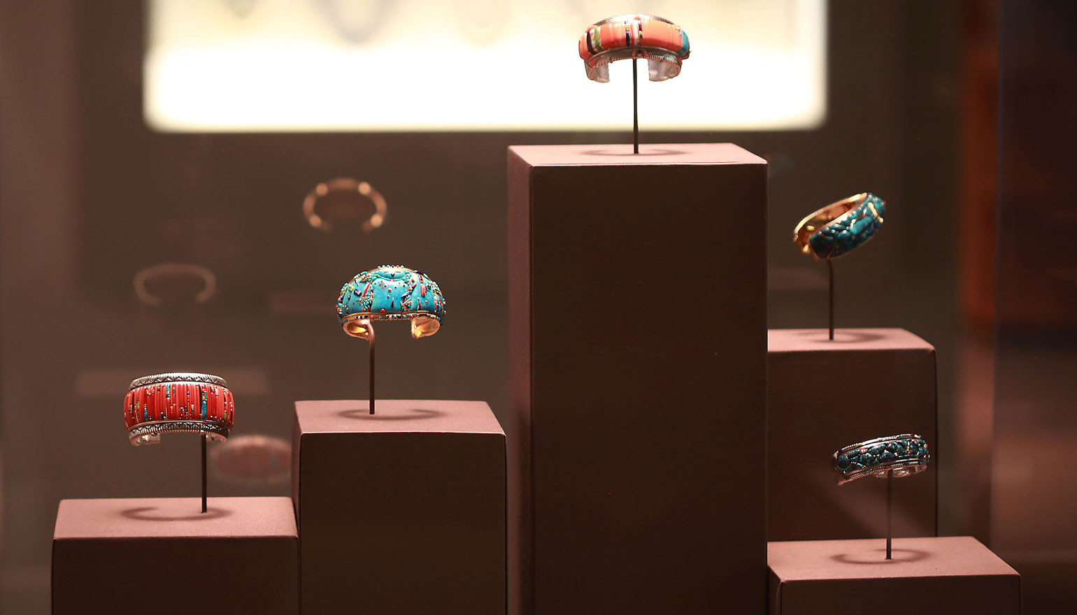 Family fortunes: the Yazzie's Navajo jewellery goes on show in New York