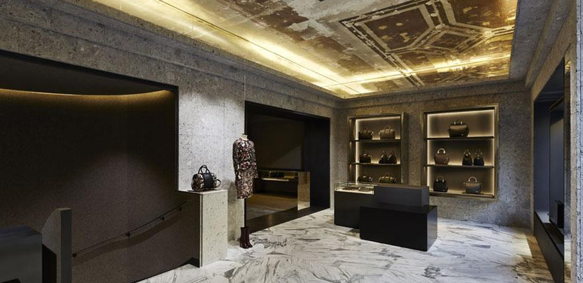 Givenchy's Avenue Montaigne boutique is honed by Riccardo Tisci and interior architect Joseph Dirand
