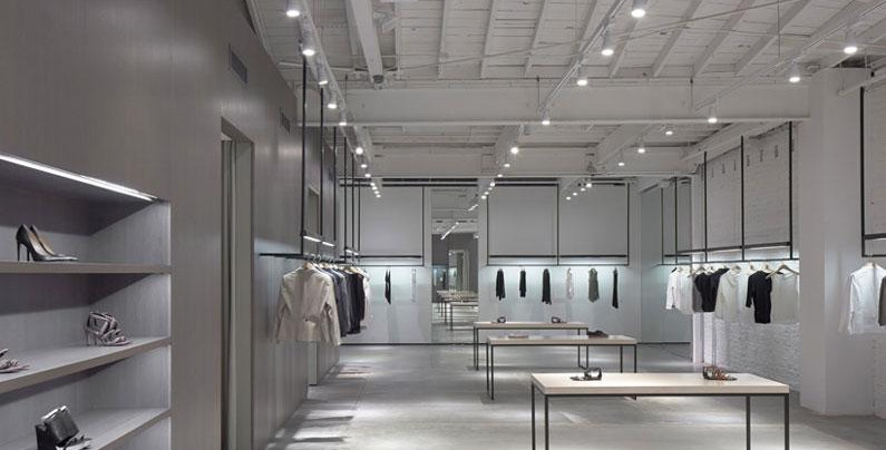 Nendo fashions Theory's Los Angeles boutique
