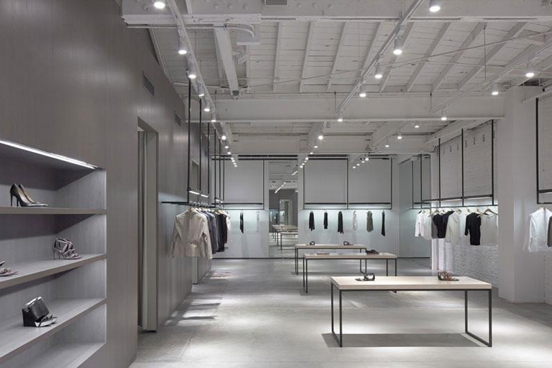 Nendo fashions Theory's Los Angeles boutique
