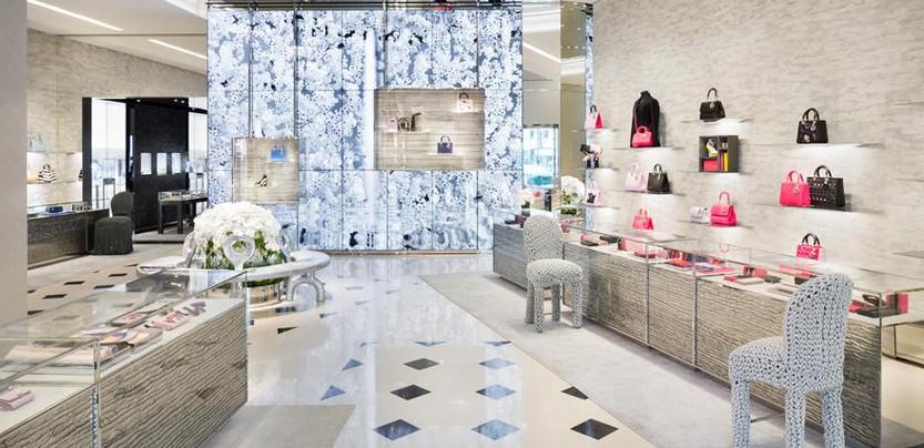 Dior relaunches its Omotesando Tokyo tower