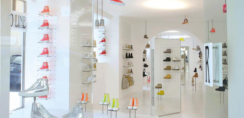 Jean Nouvel designs Italian footwear brand Ruco Line's Rome flagship