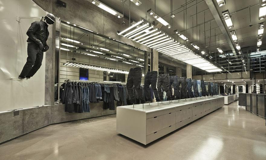 G-Star Raw opens a new Oxford Street London denim emporium