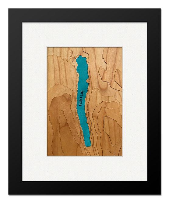 """Owasco Lake, NY 8"""" x 10"""" Frame"""