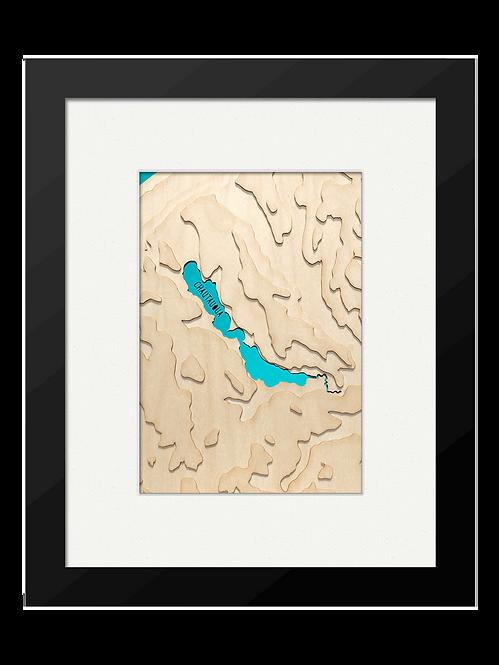 """Chautauqua Lake 8"""" x 10"""" Frame"""