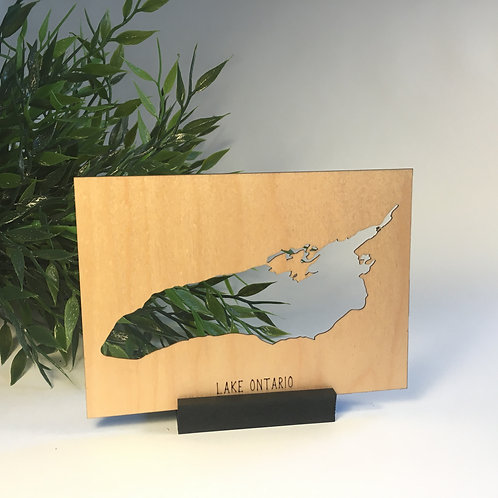 Lake Ontario Free Standing Mini Map