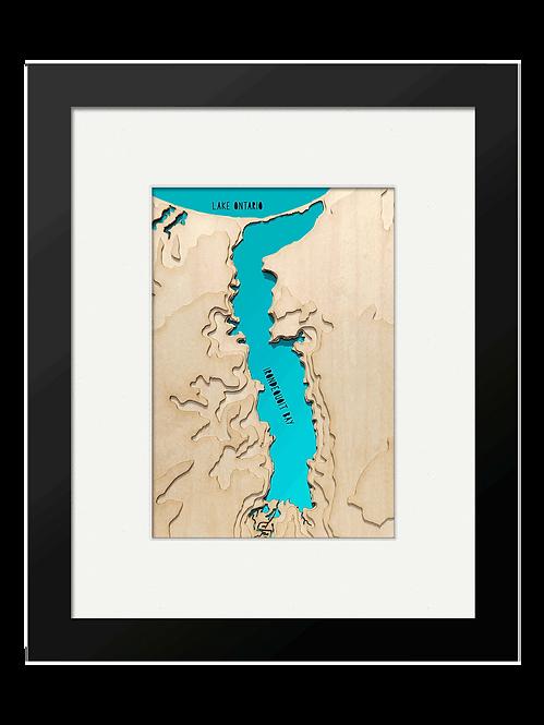 "Irondequoit Bay 8"" x 10"" Frame"