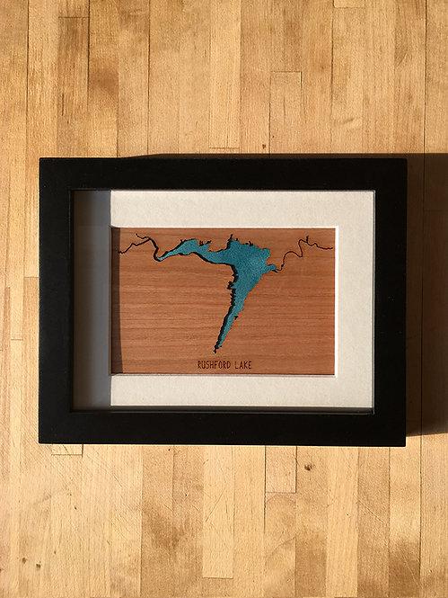 Rushford Lake Mini Map