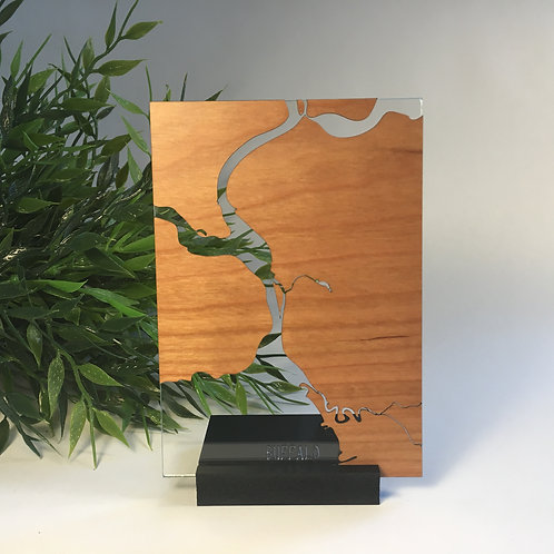 Buffalo Free Standing Mini Map
