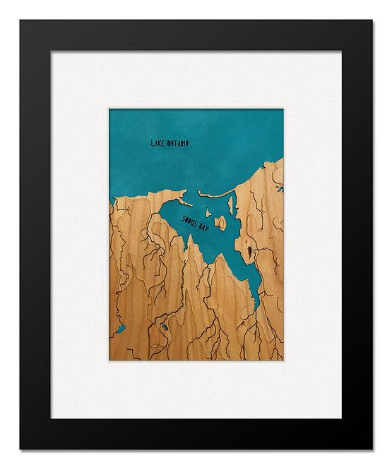"""Sodus Bay, NY 8"""" x 10"""" Frame"""