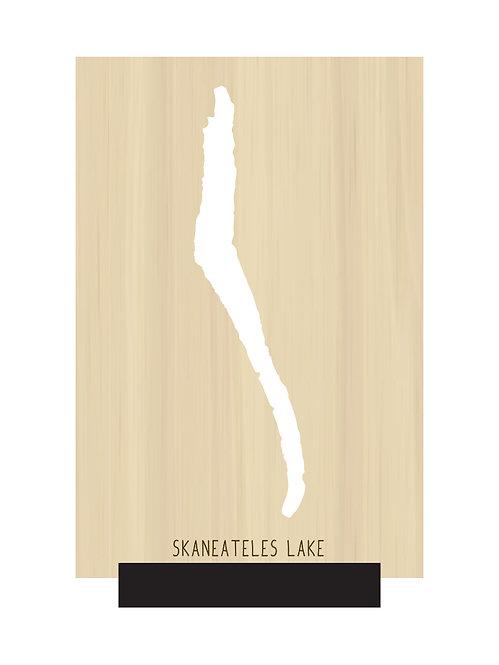Skaneateles Lake Free Standing Mini Map
