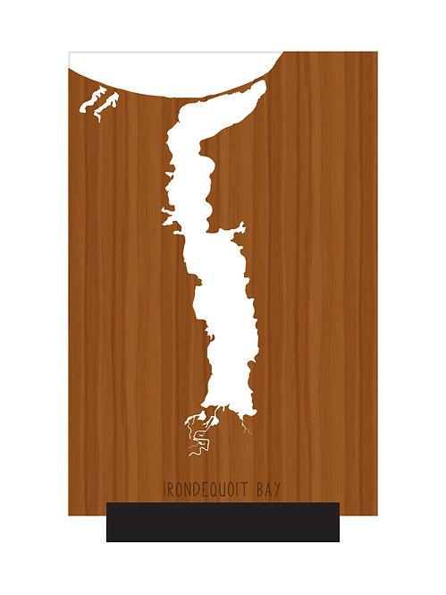 Irondequoit Bay Free Standing Mini Map