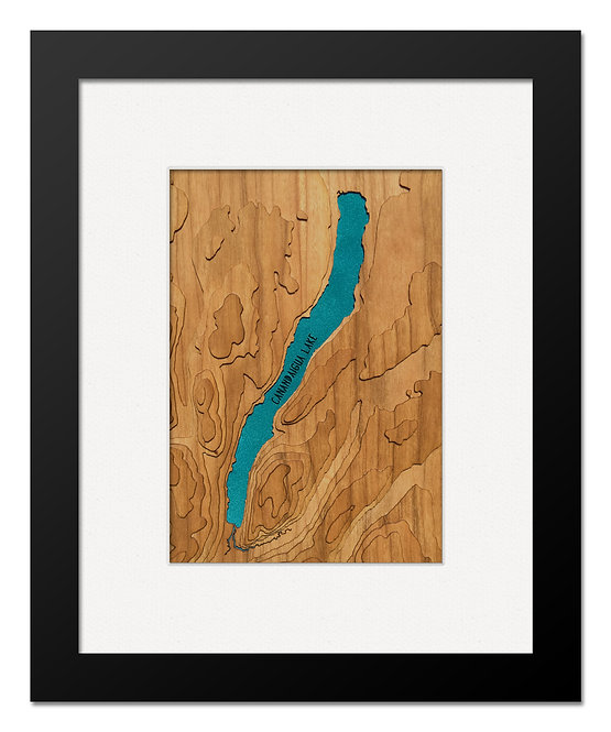 "Canandaigua Lake 8"" x 10"" Frame"