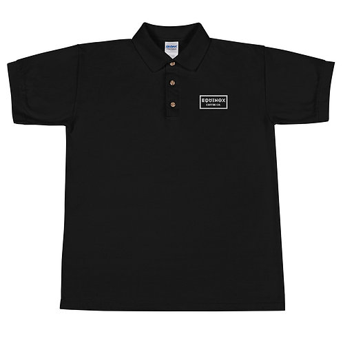 NOX GLYPH - Embroidered Polo Shirt
