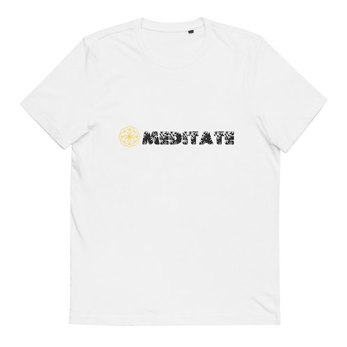 MEDITATE - Organic Cotton T-Shirt