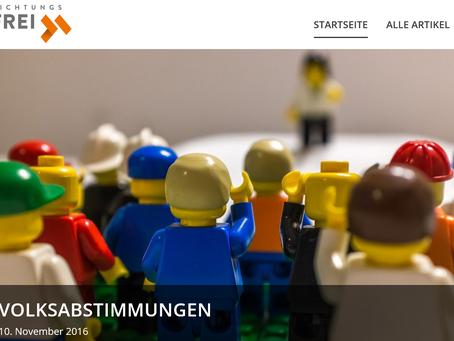 """Preis für Entrepreneurial Journalism """"Richtungsfrei"""""""