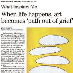 Lynn Herring - Poughkeepsie Journal - What Inspires Me