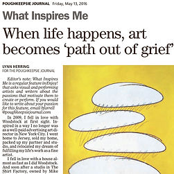 Lynn Herring - Poughkeepsie Journal - What Inspires Me