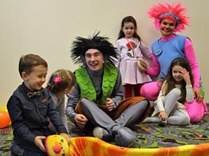 Детский праздник в Перово