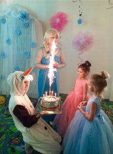 Детский праздник в детском клубе ВАО