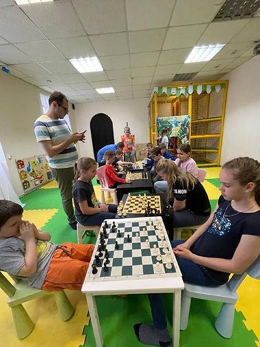 Шахматы для детей ВАО