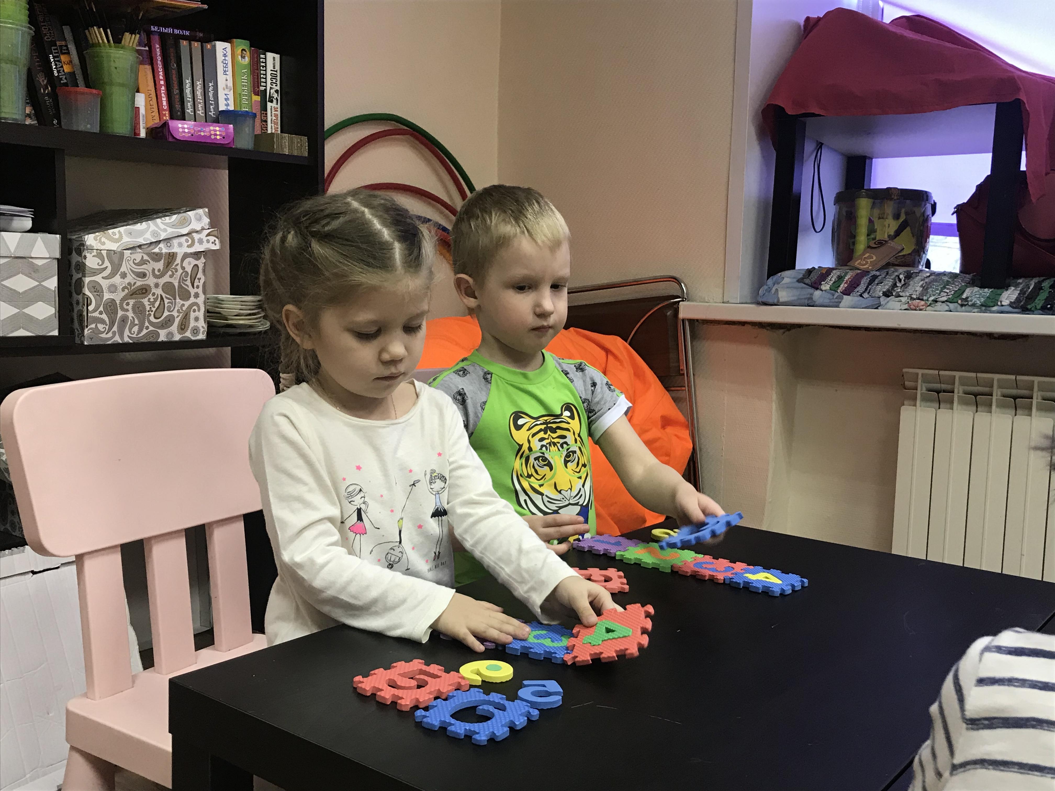 Занятия для детей от 3 лет