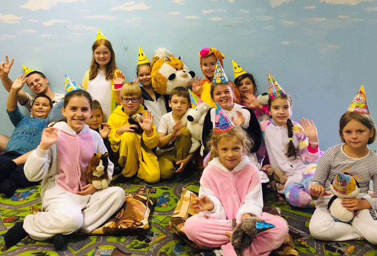 Городской лагерь для детей ВАО