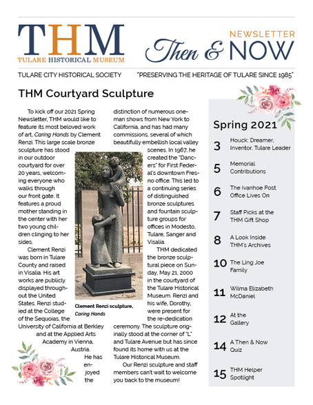 Then & Now Newsletter Spring 2021