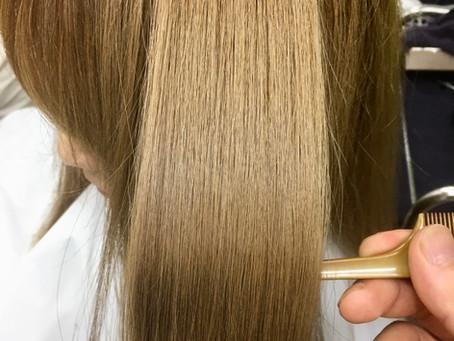 髪のお手入れ 水素トリートメント