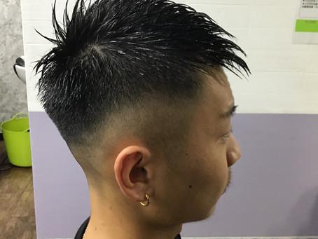 髪型チュートリアル①:メンズカット