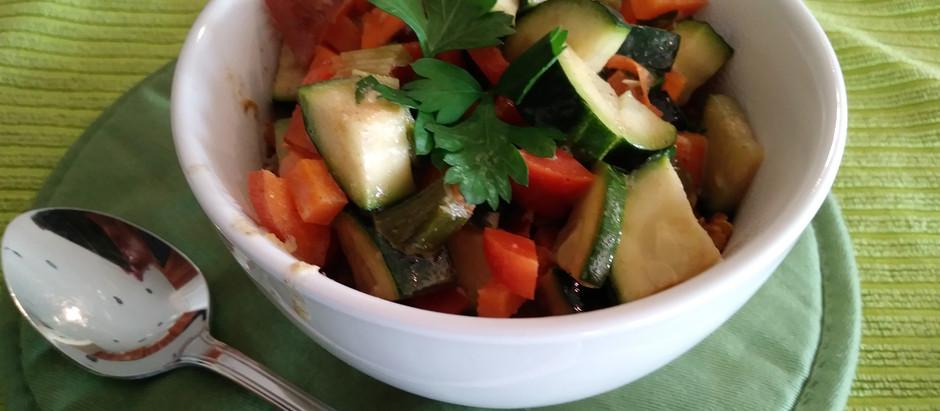 Quinoa with Veggie's Curry