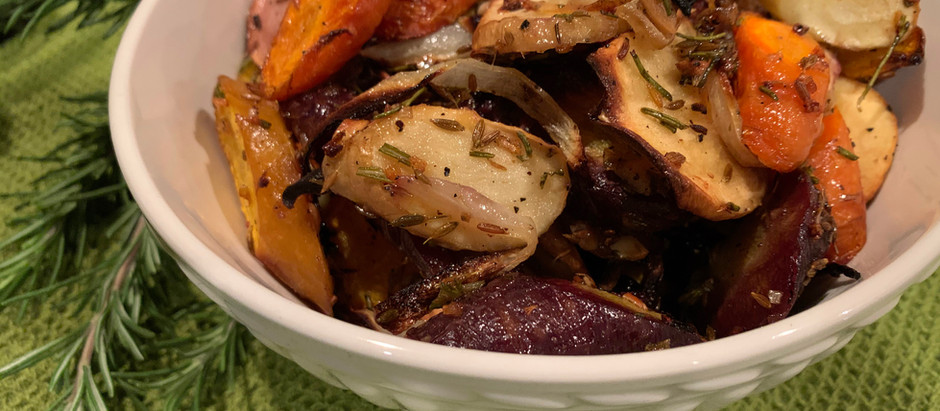 Rosemary Carrots & Parsnips with Toasted Cumin Seeds