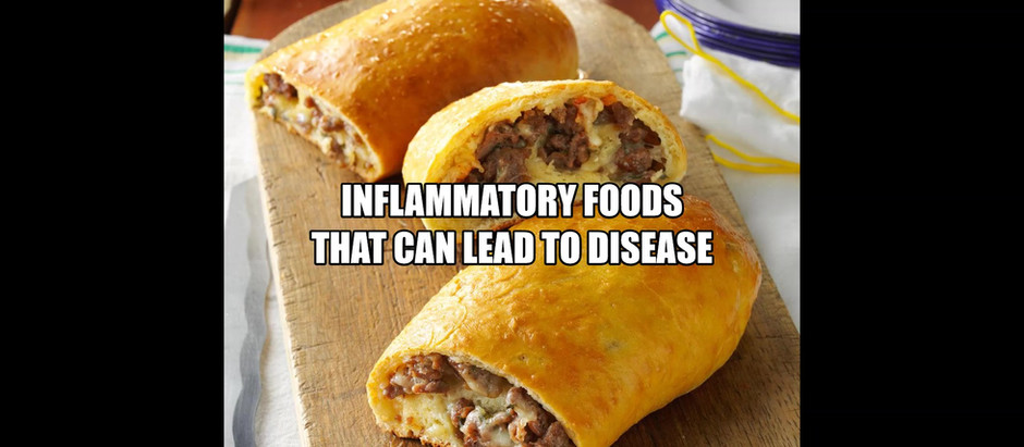 Inflammatory Foods That Can Lead To Disease