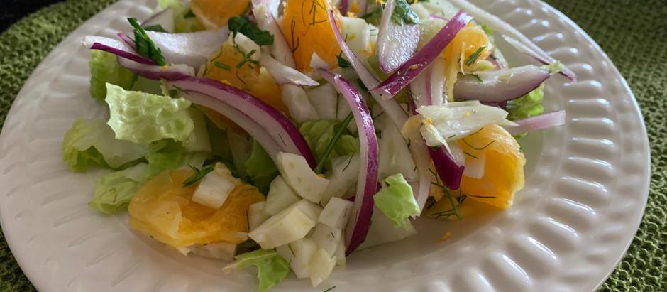 Dr. Masley's Sicilian Orange Salad
