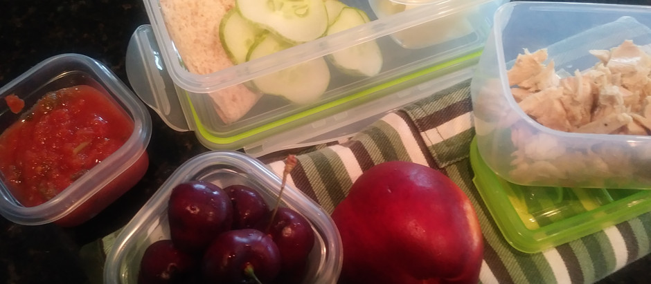 -Homemade School Lunch versus Lunchables-