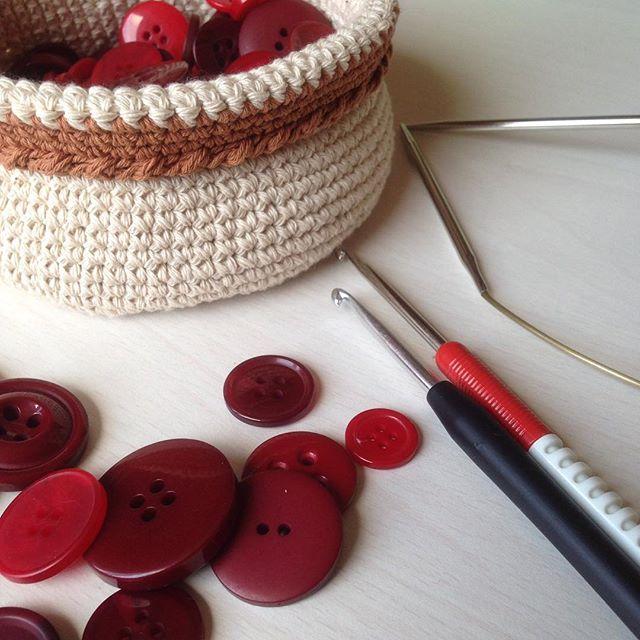 Красивые корзиночки ❤️❤️❤️#basket #крючок #вязание #вяжукрючком #вязанныекорзинки #корзинки #дляинте