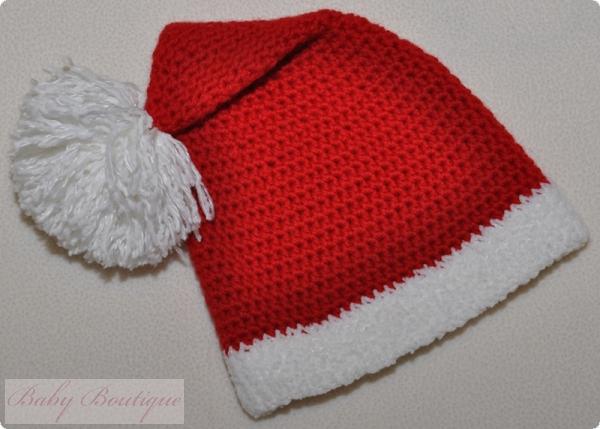 Новогодняя шапка вязаная