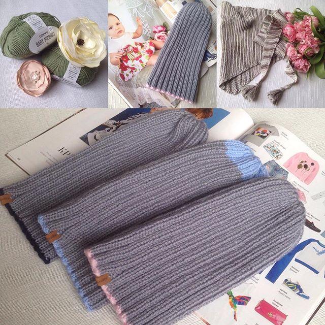 May💗_Finish 🌟✨💫_#knitting #knit #knittingaddict #knitting_inspiration #knittinghat #knittinginspi