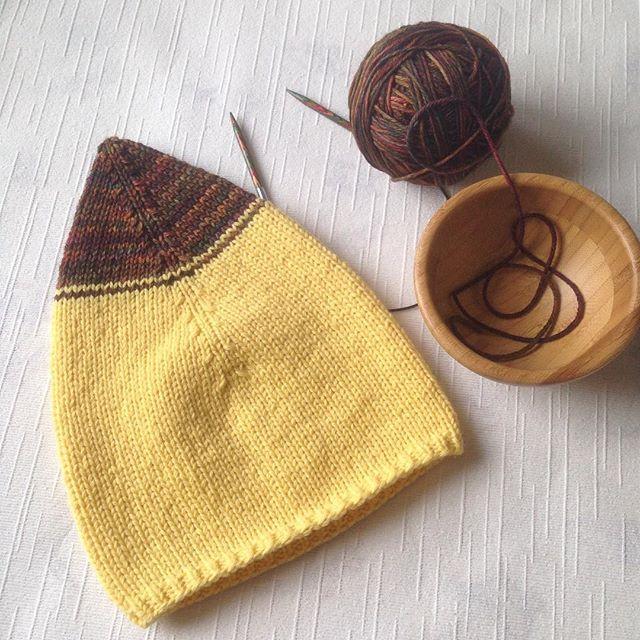 Чудо гном 🐥🌞💛 #гном #желтый #шапка #шапкадлягнома #гномомания #шапкадлямалыша #шапкадлямальчика #