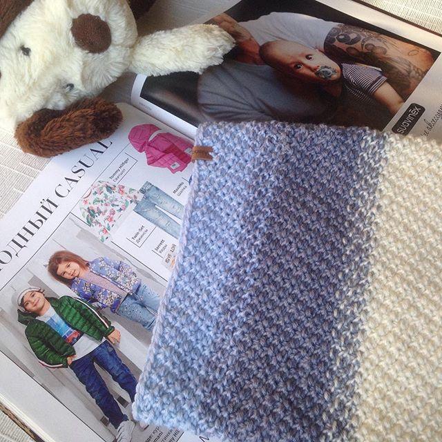 💕💙💗👶🏼 #knitforkids #knitting #instakids #вяжусама #новорожденный #длядевочки #снуд #навесну #на